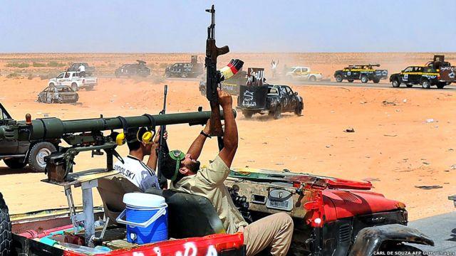 Rebelde libio