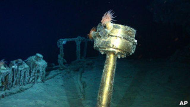 Hallazgo del barco SS Gairsoppa por parte de Odyssey Marine Exploration