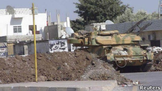 تانک های سوری