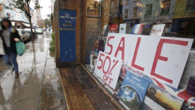 Toko buku di Inggris