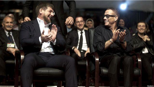 Кадыров и Ван Дамм