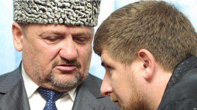 Отец и сын Кадыровы