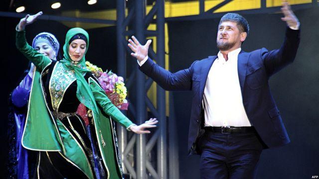 Рамзан Кадыров танцует