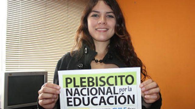 Camila Vallejo, lider estudiantil
