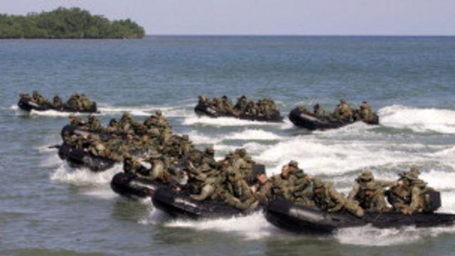 美國菲律賓聯合軍演