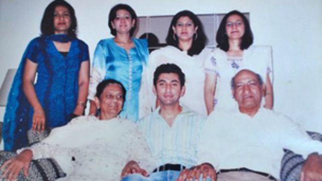 حمید اختر اور خاندان