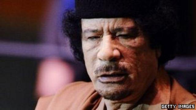 利比亞前領袖卡扎菲
