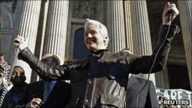 Julian Assange/Reuters
