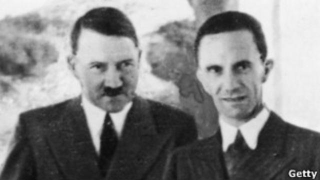 Hitler, Goebbles