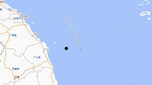 Vị trí giếng khoan của ExxonMobil ngoài khơi Việt Nam