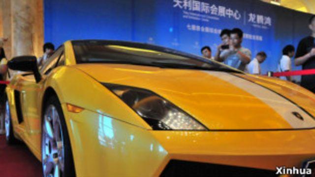 針對中國富豪的百萬名車
