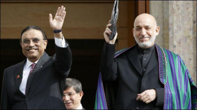 کرزی با حکومت آصف زرداری روابط بهتری داشت