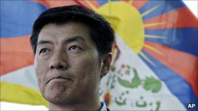 西藏流亡政府總理洛桑桑蓋