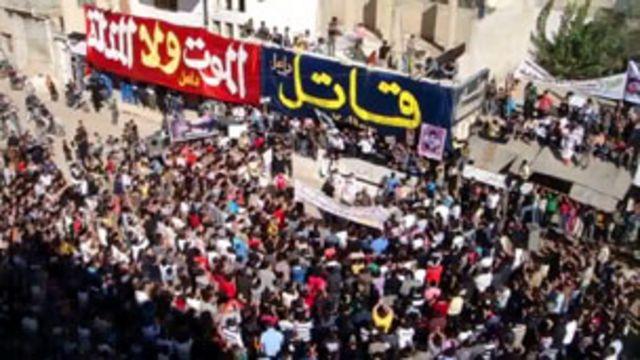 الاحتجاجات السورية
