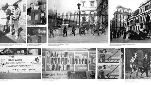 """Muestra """"Juan Domingo Perón, su obra de gobierno"""""""