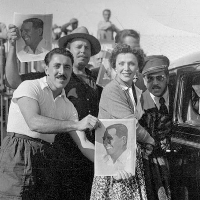 Festival de Cine de Mar del Plata en 1954.