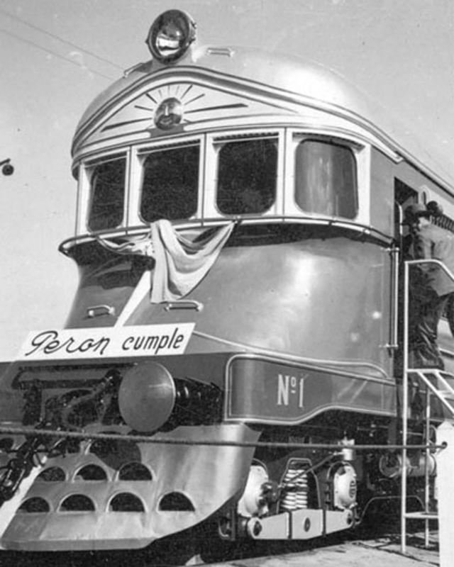 Ferrocarriles Argentinos.