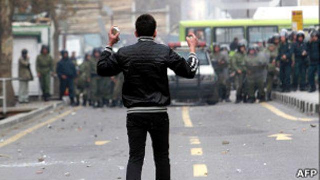 اعتراضات انتخاباتی ایران