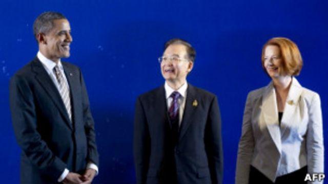 Hoa Kỳ, Trung Quốc và Úc đóng vai trò các đối tác chính tại Thái Bình Dương