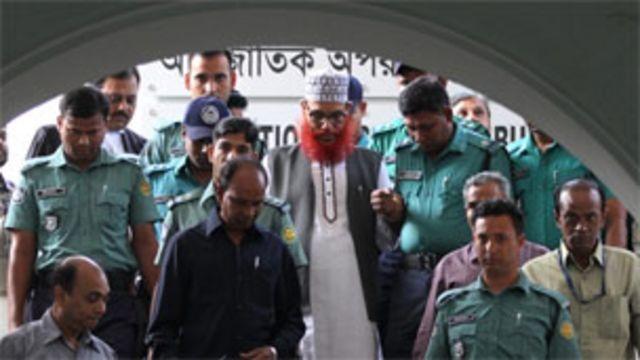 دلاوار حسين سيدي أحد قيادات حزب الجماعة الإسلامية في بنغلاديش
