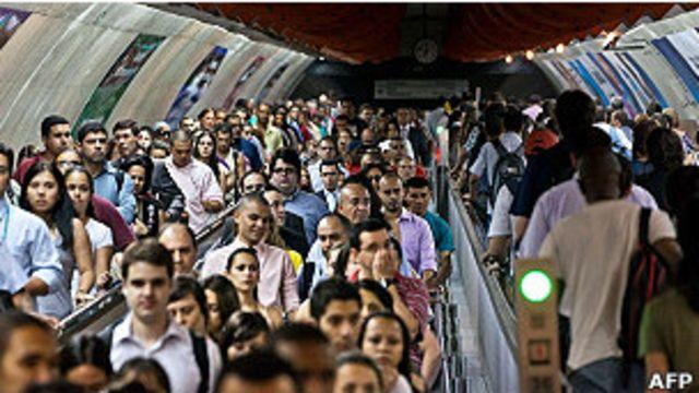 Phân nửa dân số Brazil thuộc tầng lớp trung lưu.