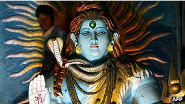 濕婆神主管毀滅與重生