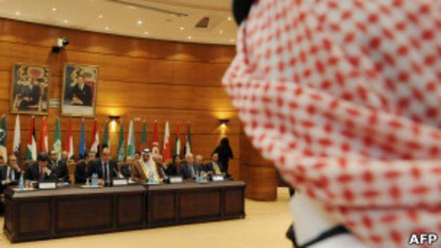 阿拉伯聯盟代表開會討論敘利亞局勢