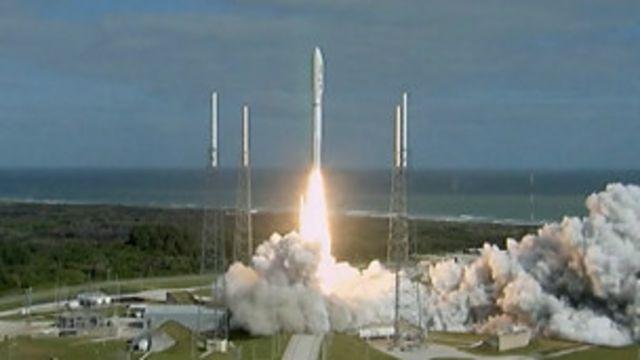 「好奇」號火星探測器發射升空