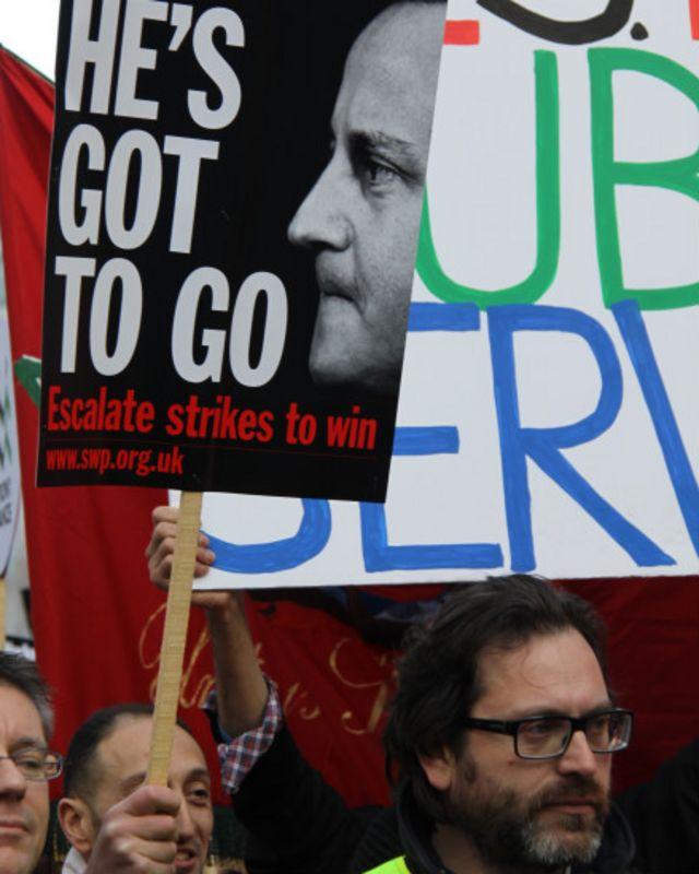 Протести в Лондоні