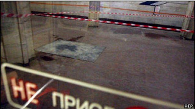 После взрыва в минском метро