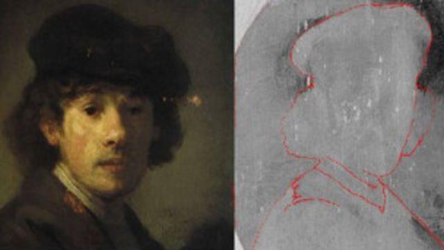 Di balik lukisan 'lelaki tua berjenggot', para ahli berhasil berhaisl menyingkap lukisan lain yang mirip dengan lukisan Rembrandt lainnya.