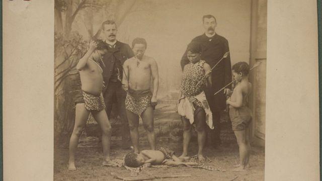 La tribu Boschiman