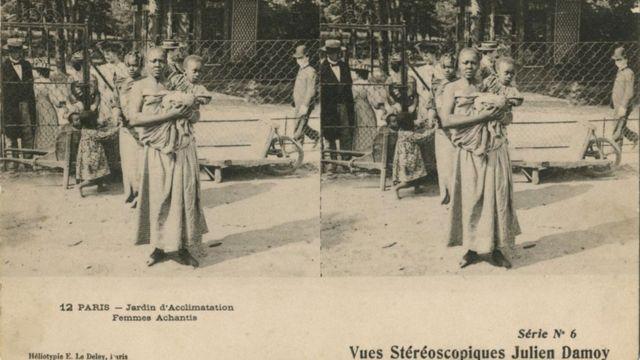 Mujer de la etnia Achanti