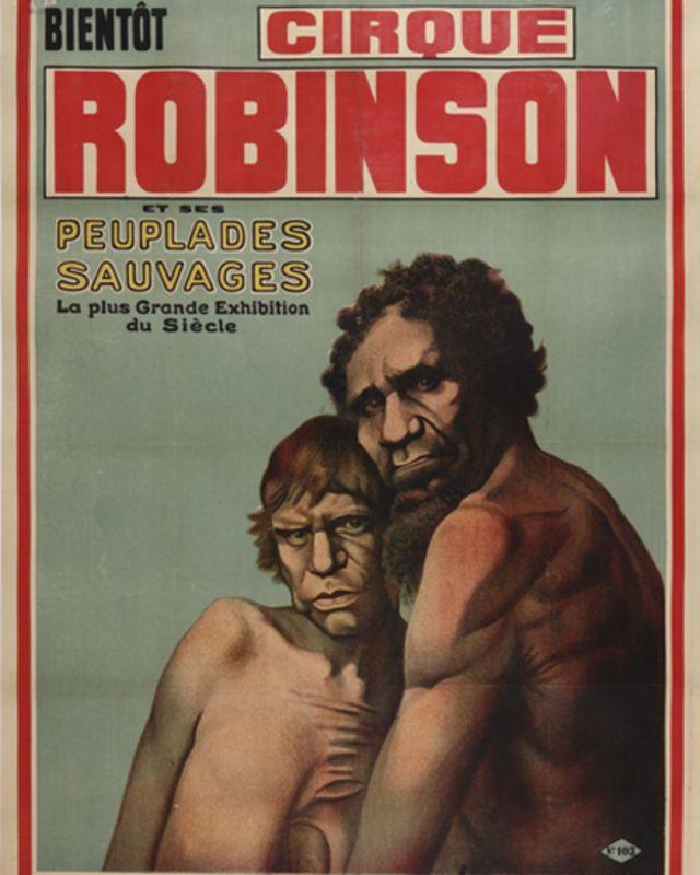 Afiche del Circo Robinson