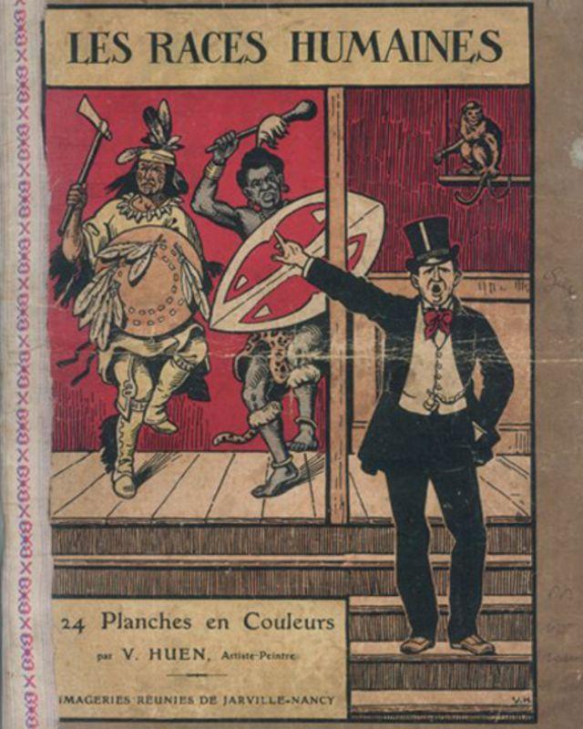 Libro titulado 'Las Razas Humanas'