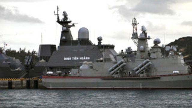 Chiến hạm Việt Nam mua từ Nga