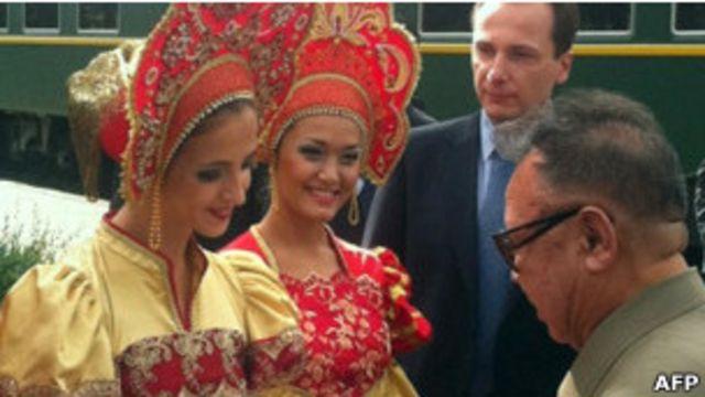 Ким Чен Ир в России