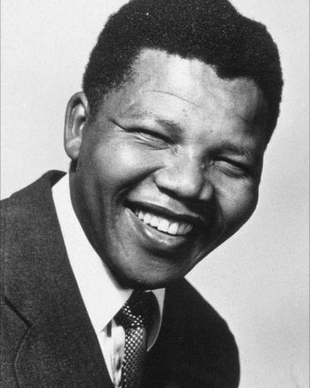 Mandela muri 1956