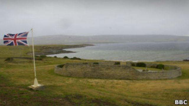 Британское военное кладбище на Фолклендских островах