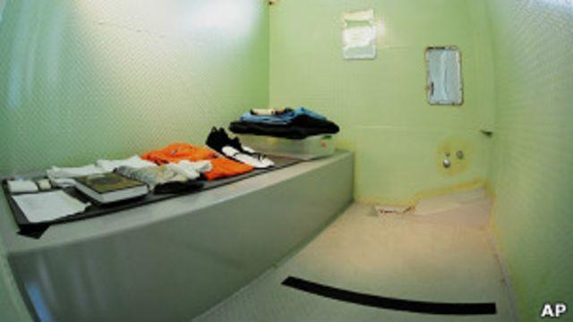 Камера в Гуантанамо