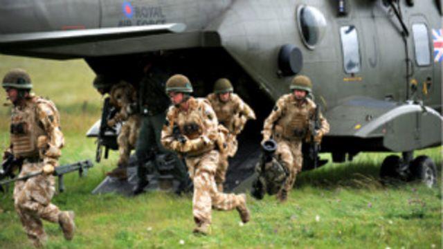 Британские десантники