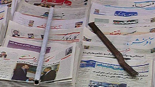 رییس قوه قضاییه ایران میگوید یک جریان سیاسی میخواهد مانند دوره اصلاحات، 'اسلام و ارزشهای دینی را (در مطبوعات) زیر سوال ببرد'