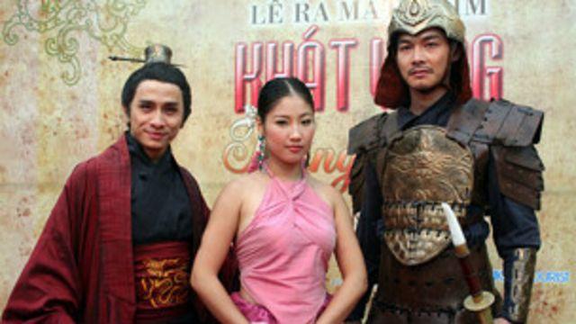 """Bộ phim 'Khát vọng Thăng Long' ra mắt năm 2010 đã gây ra làn sóng chỉ trích phim này """"quá giống Trung Quốc"""""""
