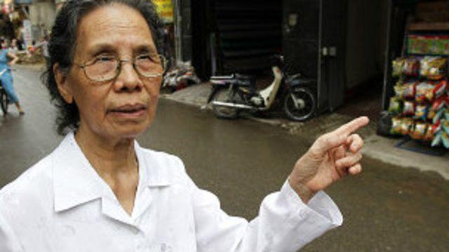 Cụ bà Lê Hiền Đức từng được giải quốc tế về nỗ lực chống tham nhũng