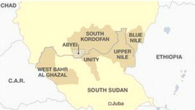 Taswirar Sudan ta Kudu