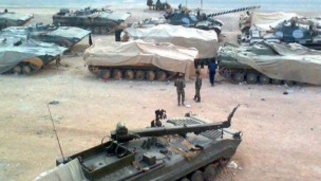قوات الحكومة كانت تسيطر على الرقة حتى أبريل/نيسان الماضي.