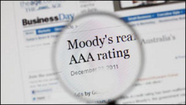 အဆင့်တိုး သတ်မှတ်ပေးတဲ့ Moody's