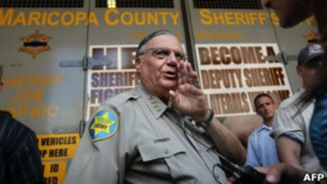 Joe Arpaio Foto: AFP
