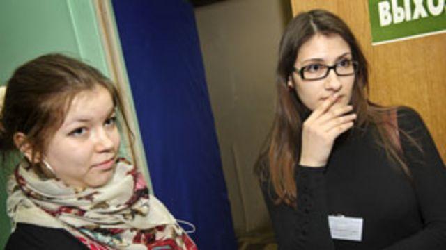 Наблюдатели Сабина и Софья