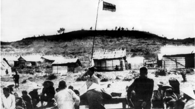 Cảnh Mỹ Lai ngày khi xảy ra vụ thảm sát năm 1968